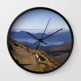 A long walk home - New Zealand Wall Clock