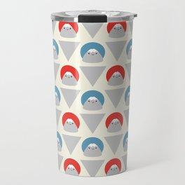 Mt Fuji Dots Travel Mug