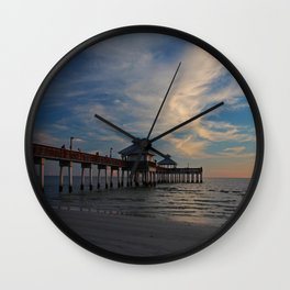 Play a Little Slow Song Wall Clock