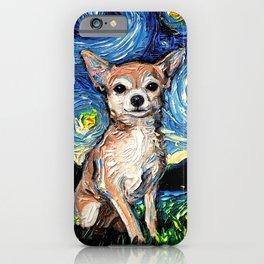 Chihuahua Night iPhone Case