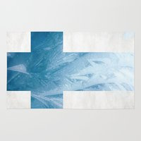 finland Area & Throw Rugs featuring Finland by Fernando Vieira