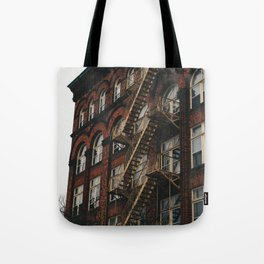 Fire Escape With Me Tote Bag
