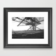 Coal Mine Framed Art Print