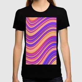 Colorful Wavy Stripes T-shirt