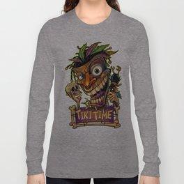 Tiki Time Long Sleeve T-shirt