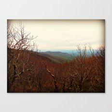 Mountaintop Hideaway Canvas Print