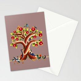 Pomegranate Tree Illumination Stationery Cards