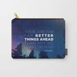 """CS Lewis """"Better Things Ahead"""" Carry-All Pouch"""