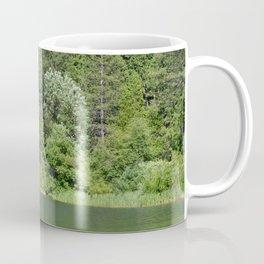 one kayak in the green Coffee Mug
