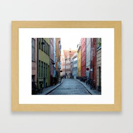 Colors of Copenhagen Framed Art Print