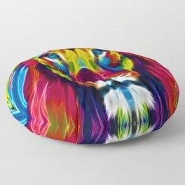 Colourful Lion Floor Pillow