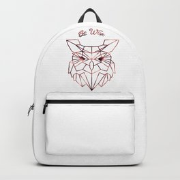 Be Wise Backpack