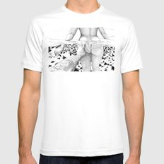 The Swim MEDIUM Mens Fitted Tee White