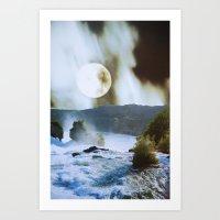 fog Art Prints featuring Fog by John Turck