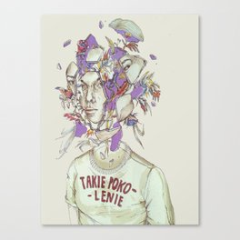 Fine on the outside Canvas Print