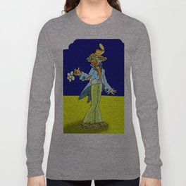 The clown with the flower Long Sleeve T-shirt