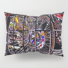 Circles, circles everywhere and not a pie in sight Pillow Sham