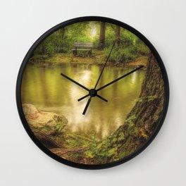 Cedar Creek East Oil Wall Clock