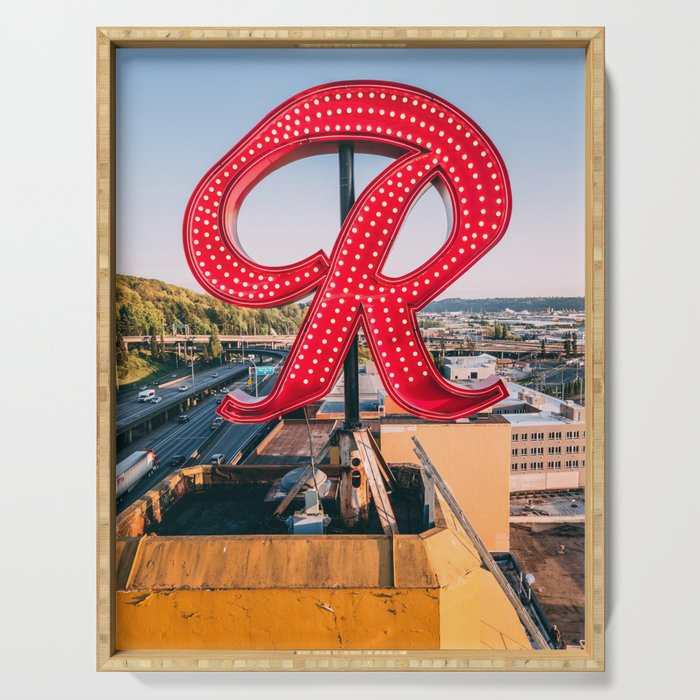 "Rainier ""R"" Serving Tray"
