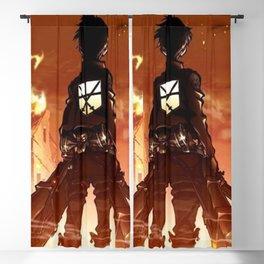 """Hero"" Attack on Titan Blackout Curtain"