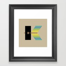 K like K Framed Art Print