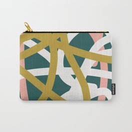 Abstract Lines 02B Carry-All Pouch