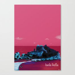 Isola Bella Canvas Print