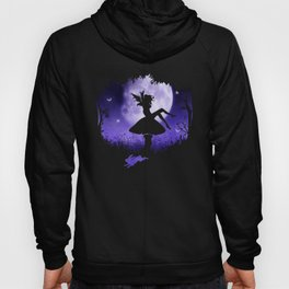 fairy in the moonlight Hoody