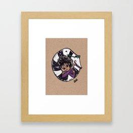 Sandworm hugs Framed Art Print