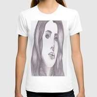 celebrity T-shirts featuring Celebrity Portrait by N. Rogers Fine Art