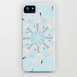 dancing with swans iPhone Case