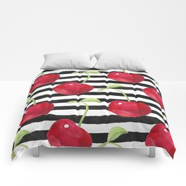 Cherry pattern Comforters