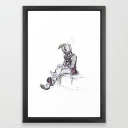 Off Set Framed Art Print