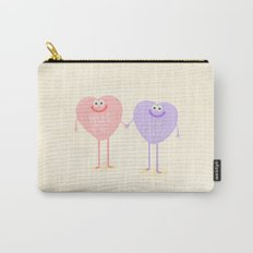Candy Sweethearts  Carry-All Pouch