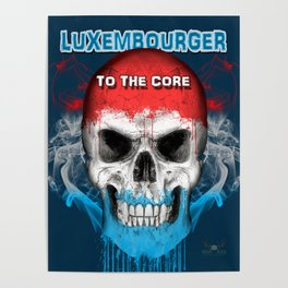 To The Core Collection: Luxembourg Poster