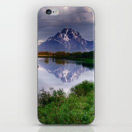 Mt. Moran at Oxbow Bend iPhone Skin