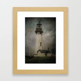 Late Afternoon Storm Framed Art Print