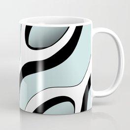 Chains Pattern - Blue Coffee Mug