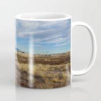 arizona Mugs featuring Arizona by Ian Bevington