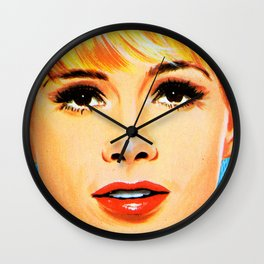 That face Though Wall Clock