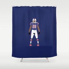 Recharged - C.J. Spiller Shower Curtain