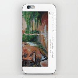 """Sapa"" in words & image (F.Vuillamy) iPhone Skin"