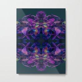 Floral Symmetry Metal Print