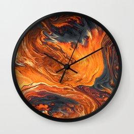 Lava Art Wall Clock
