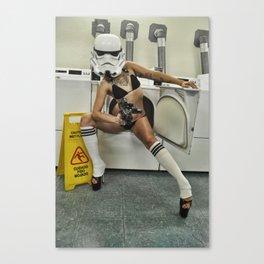 Coco Trooper Canvas Print