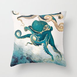 Underwater Dream V Throw Pillow