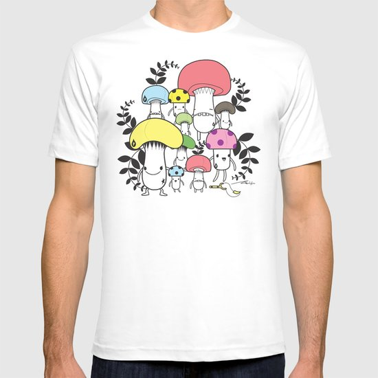 WELCOME TO MUSHROOM LAND - EP.547 VE T-shirt