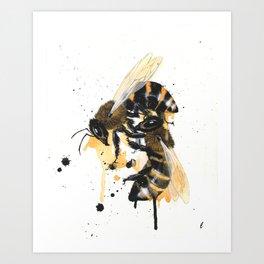 """""""Remnants"""" series, VI (Honeybees) Art Print"""