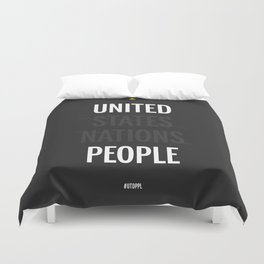 UP - United People Duvet Cover