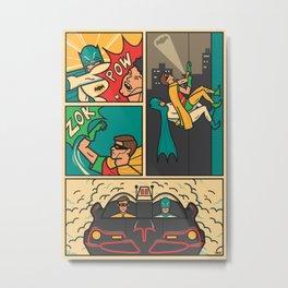 Batman&Robin Metal Print